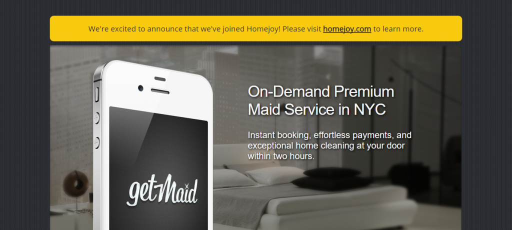 On demand business case #1: home and cleaning services