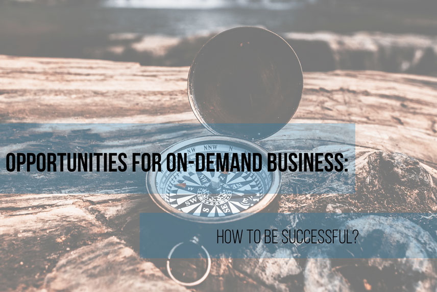 Opportunities for on-demand business: how to be successful?