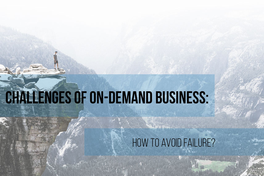 Challenges of on-demand business: how to avoid failure?