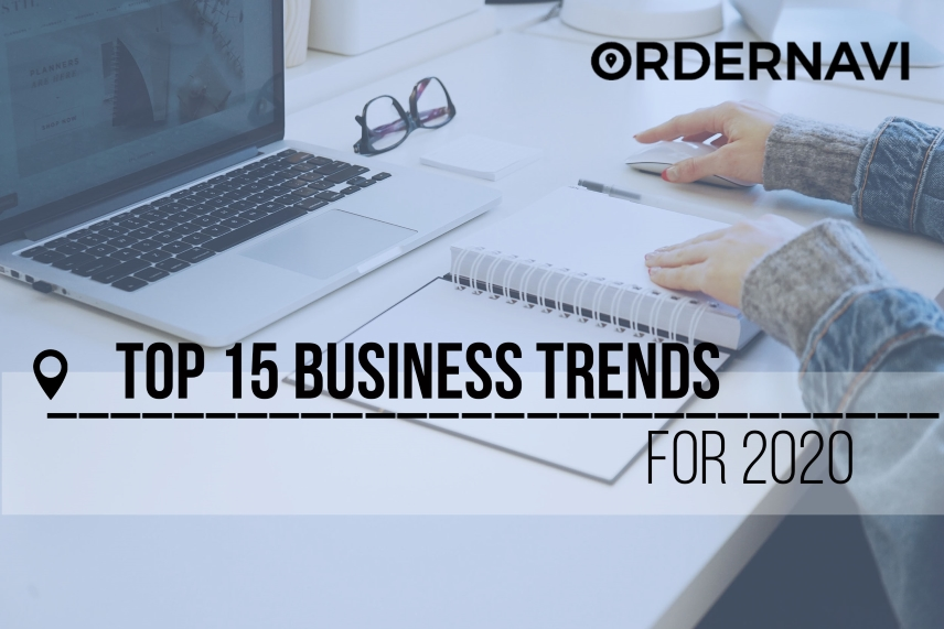 Top 15 business trends for 2020